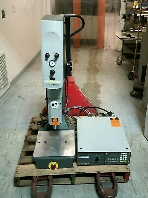 Sonics 2050 20 Khz Welding System With Fm 2020 Power Supply