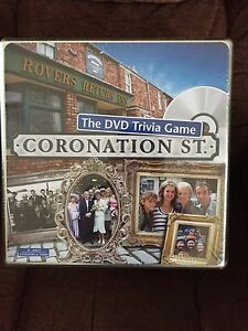 Coronation Street trivia game new