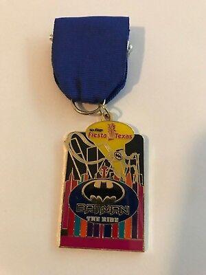 2015 Six Flags Fiesta Texas Batman the Ride Fiesta Medal