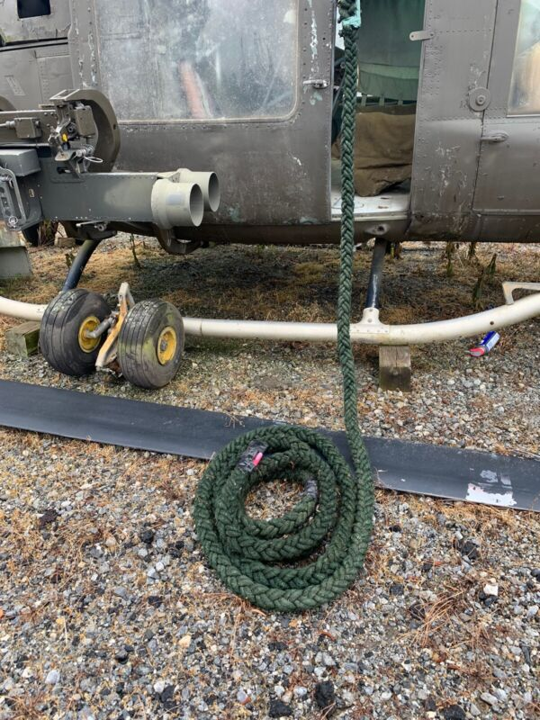 Fast Rope For Helicopter Repelling 60 Feet Military Issue New Last One
