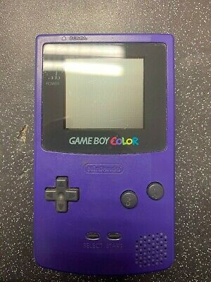(NE6) Nintendo Game Boy Colour Console, Grape Purple, Gameboy Color