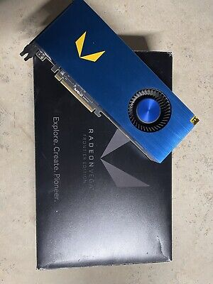 AMD Radeon RX Vega Frontier Edition FE 16gb Graphics Card GPU