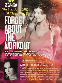 Free Zumba Dance Fitness Class @ Nikki Webster Dance 6pm Wed Sydney Region Preview
