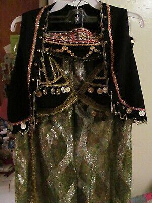 Vintage Genie costume set One of a kind custom made SEXY - One Of A Kind Costumes