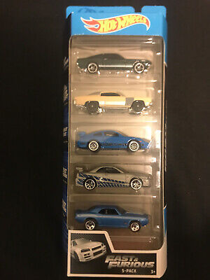NEW Hot Wheels 5 Pack Fast and Furious Set Sealed Unopened Cars