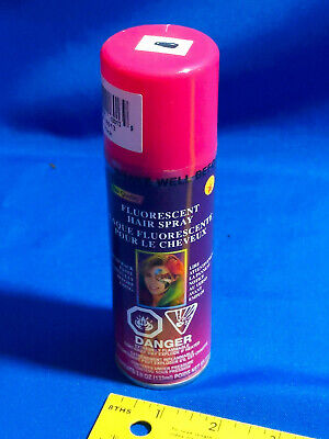 Pink NOS Costume Halloween Hair Spray Star Quality VTG Temporary Fluorescent
