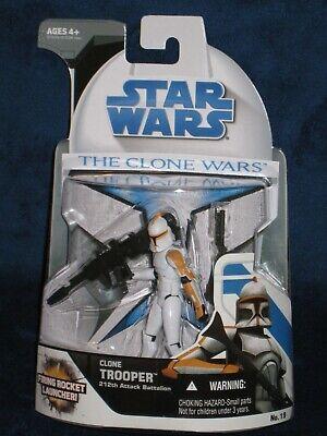 Star Wars 2008 Clone Wars Clone Trooper 212th Attack Battalion No. 19