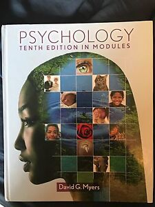 Psychology 10th edition in modules