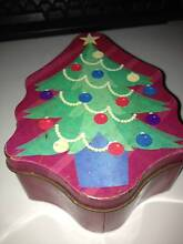Christmas Tree Shaped Tin Dianella Stirling Area Preview