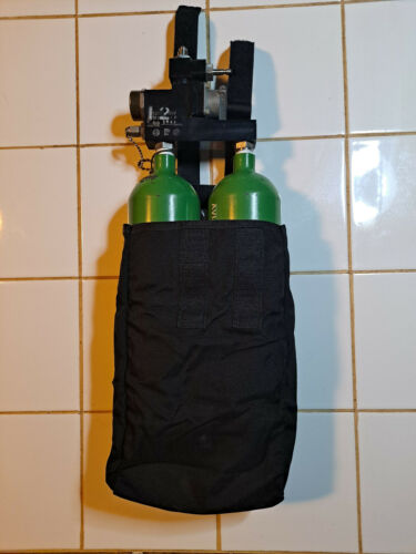Military Parachute Oxygen Bottle Pocket