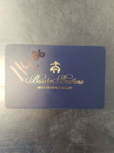 Brooks Brothers Merchandise Credit For 114.86 Gift Card Mailed To You  - $102.00