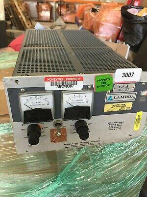 Lambda Regulated Model Lk 345a Power Supply