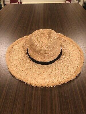 Zara Straw Beach Hat Sz.M