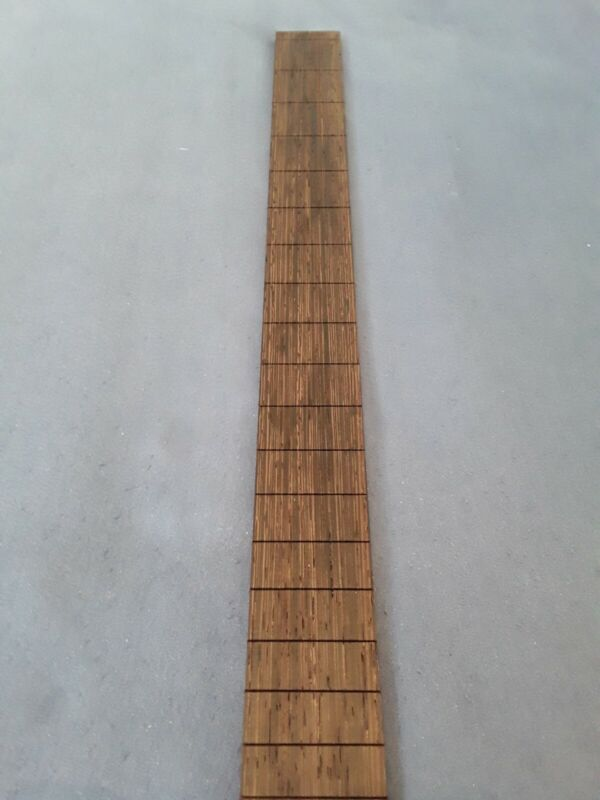 cigar box guitar fretboards Exotic pre slotted African Wenge- highend tonewood !