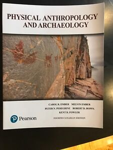 Physical Anthropology and Archaeology 4th Canadian Edition