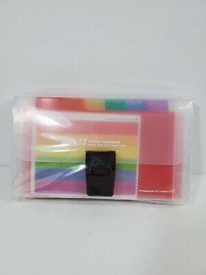 13 Pocket Rainbow Index Mimi Document File
