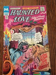 First Edition Haunted Love comic