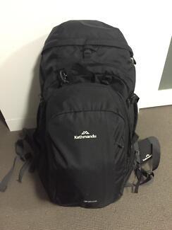 65 litre Kathmandu backpack & detachable day pack Prahran Stonnington Area Preview