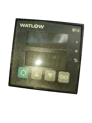 Watlow 93aa-1dd0-00rr Temperature Controller Used