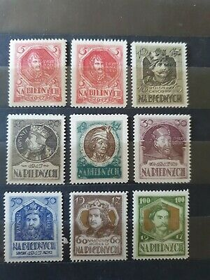 Poland Stamps 1919 Mh/Mnh
