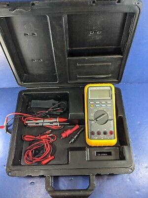 Fluke 88 Automotive Meter Hard Case Screen Protector Rpm Pickup Probe