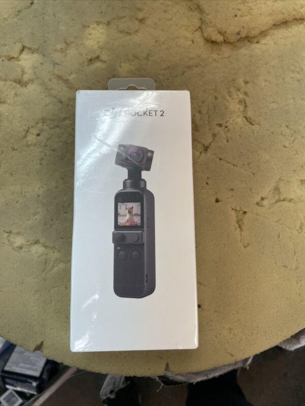 DJI Osmo Pocket 2 Touchscreen Handheld 3-Axis Gimbal Stabilizer Camera