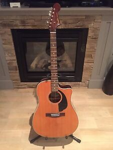 Like new Fender Sonoran SCE Acoustic Electric