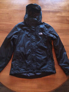 Women's XS North Face spring jacket - mint