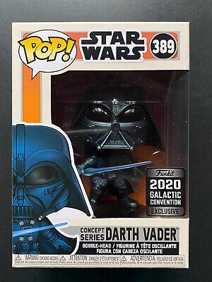 Funko Pop Star Wars Celebration 2020 Concept Series Darth Vader Game Stop Shared