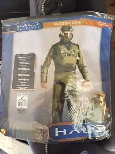 Halo Master Chief Halloween Costume Adult SZ M