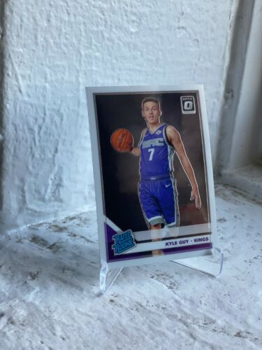 2019-20 DONRUSS OPTIC SACRAMENTO KINGS KYLE GUY RC ROOKIE NO. 183 VIRGINIA