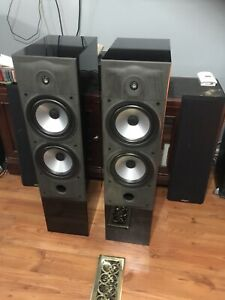 ENERGY C8 SPEAKERS AND CABLES