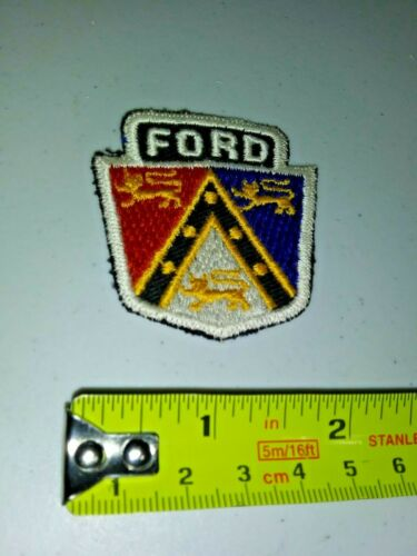 VINTAGE Embroidered Automotive Gasoline Patch UNUSED - FORD small