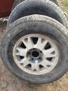 03 jimmy snow tires