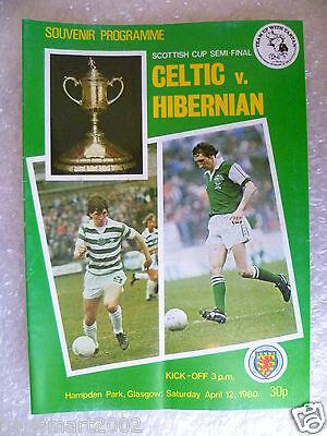1980 Scottish Cup Semi FINAL - CELTIC v HIBERNIAN, 12th April