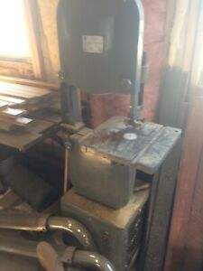 """14"""" bandsaw with 3 blades"""