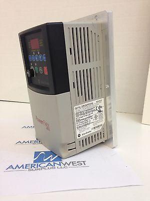 Allen-bradley Powerflex 40 Drive 1.5kw2.0hp Ser A Aluminum Back Plate