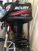 Mercury 8hp outboard motor made in japan. Short shaft Richmond West Torrens Area Preview