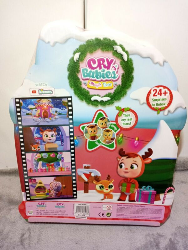 Cry Babies Magic Tears Ruthy Advent Calendar - 24 Surprises to UNbox