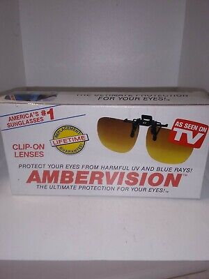 NIB Ambervision Aviator SunGlasses As Seen on TV (As Seen On Tv Aviator Sunglasses)