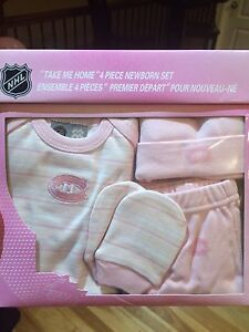 Montreal Canadians Baby Girl Set NHL