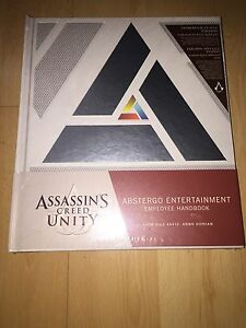 Assassins Creed Abstergo Entertainment Handbook - 20$