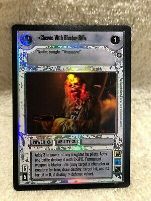 Near Mint REFLECTIONS II star wars ccg swccg zz Grand Admiral Thrawn