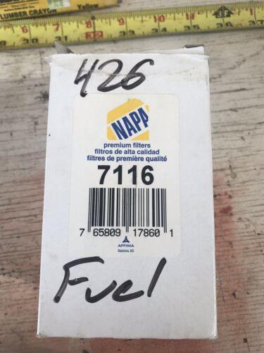 2 Napa Filters 7116