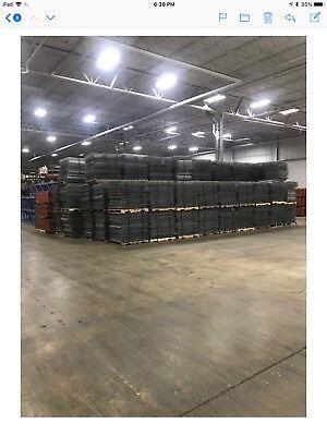 Industrial Warehouse Shelving Rack Decks