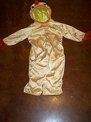 Toddler Size 2-3T BabyStyle Baby Style Goldfish Gold Fish Halloween Costume - Goldfish Kostüm