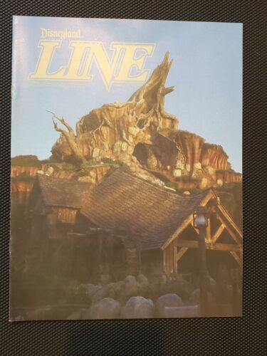 1989 CAST MEMBER NEWSLETTER DISNEYLAND LINE SPLASH MOUNTAIN OPENING ISSUE