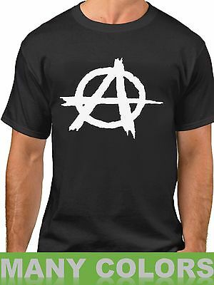 Anarchy T Shirt Reject Hierarchy Freedom Tee Leaderlessness Anarchism T Shirt