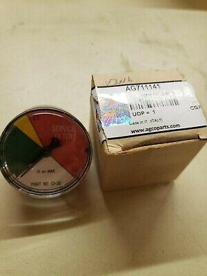 Ag711141 Ag Chem Agco Rogator Filter Gauge