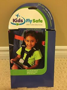 Kids Fly Safe- CARES Airplane Safety Harness